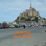 WE dans la baie du Mt St Michel avec différentes activités et visites