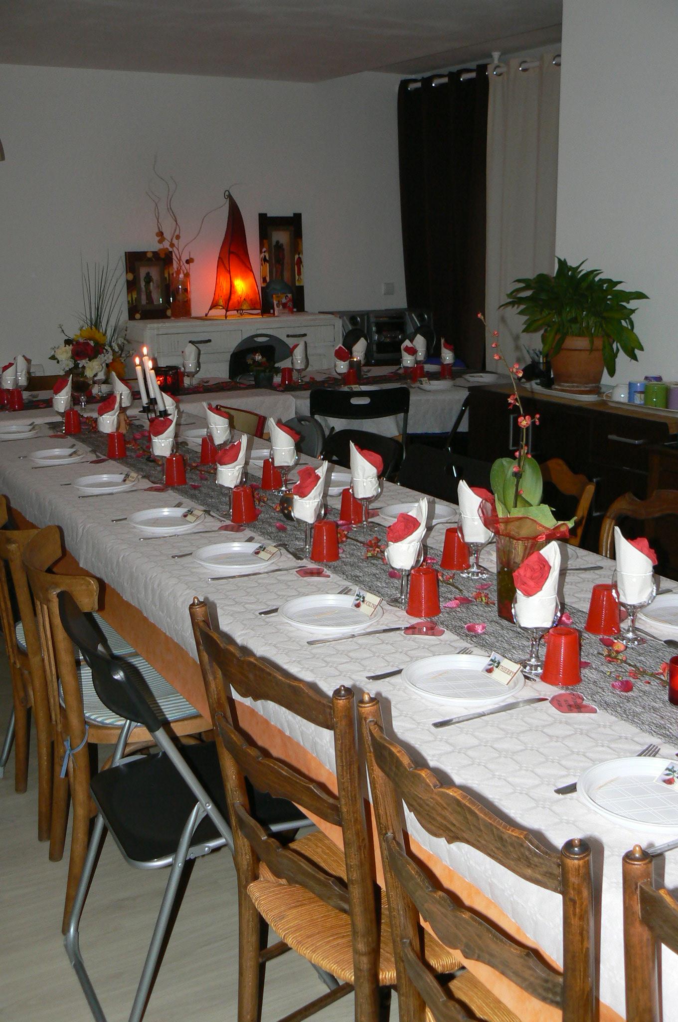 St Valentin 2016 : diner thème polonais pour nos adhérents