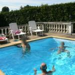 Cool, il faut beau en Sarthe pour les baignades un dimanche après midi d'Aout 2015