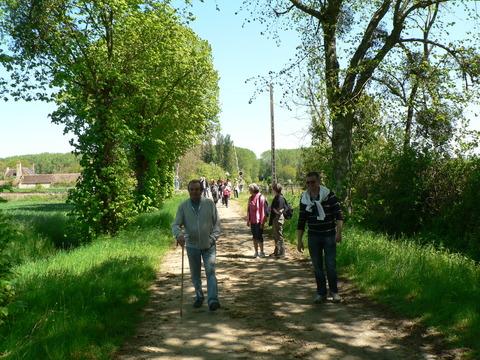 Ballade par les chemins pédestres de Sarthe