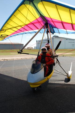Prêts pour le décollage en ULM