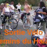 Sortie à vélo sur les chemins de Halage mayennaisDé