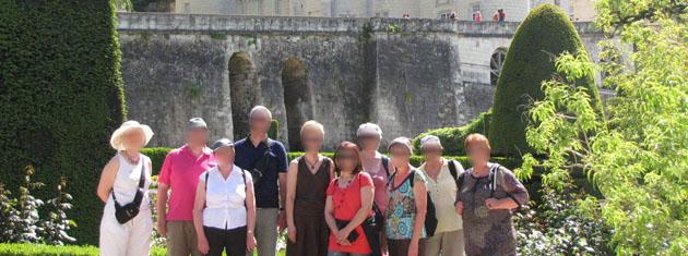 Visite Chateau d'Ussé
